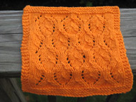 Elven Leaves Washcloth