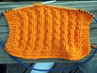 A washcloth I designed